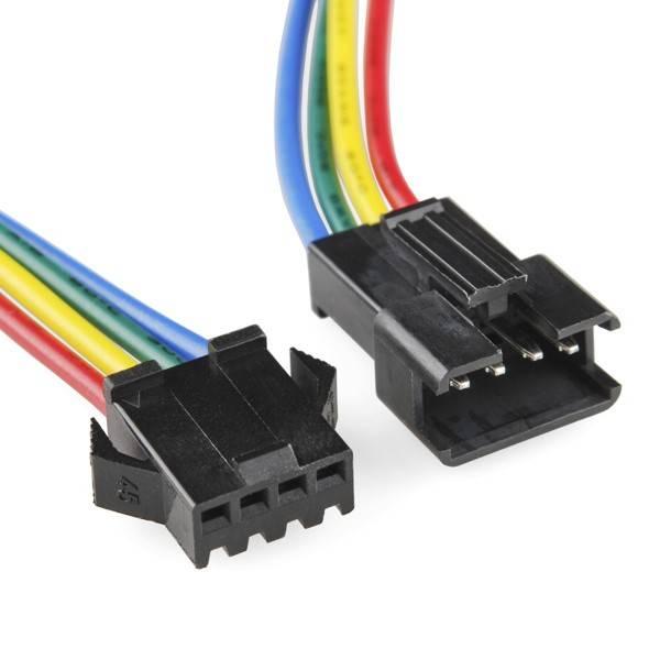 Satz RGB-Anschluss-Buchse 1 männlich und 1 weiblich