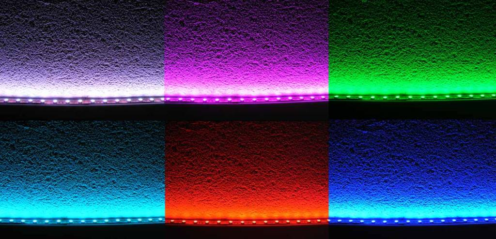 LED Strip RGB 60 LED/m Flexible - per 50cm