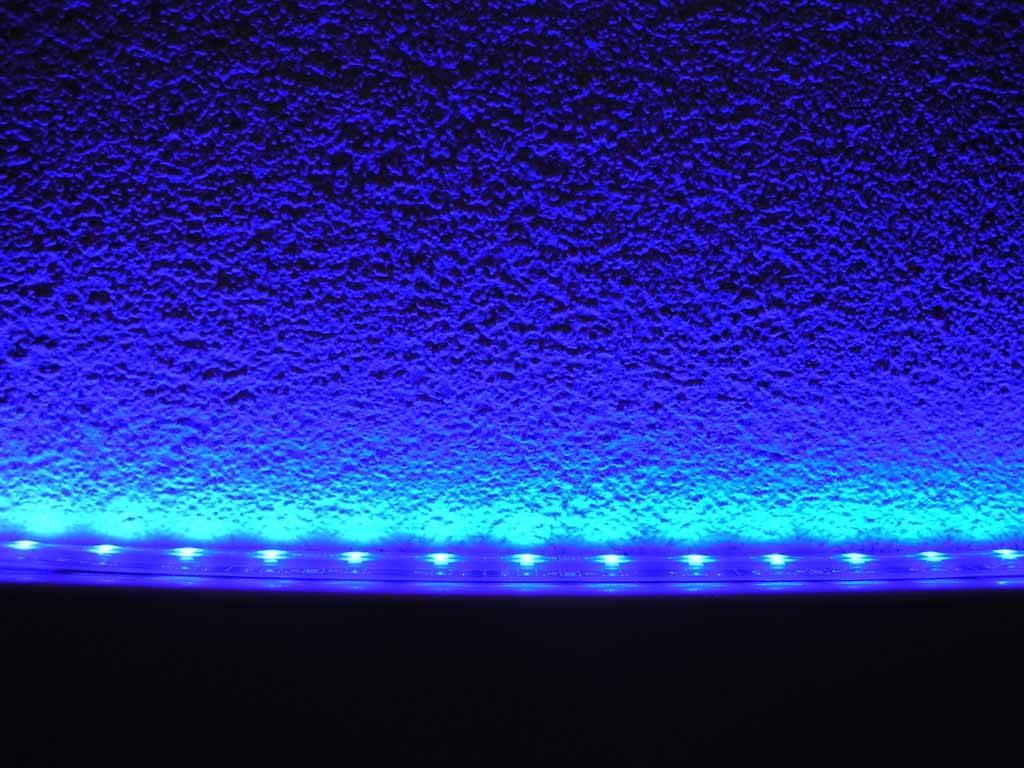 LED Strip Blue Waterproof - per 50cm