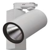 25W LED Tracklight con driver integrato