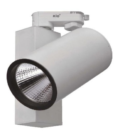 LED-Schienenleuchte 25W 3 Phase mit integrierten Treiber