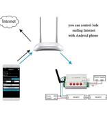 Programmierbare digitale LED-Strip-Controller WiFi Internet