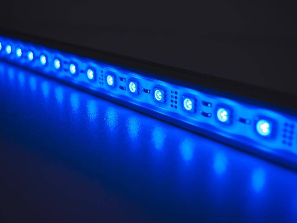LED Balk 50 cm Blauw 5050 SMD 7.2W