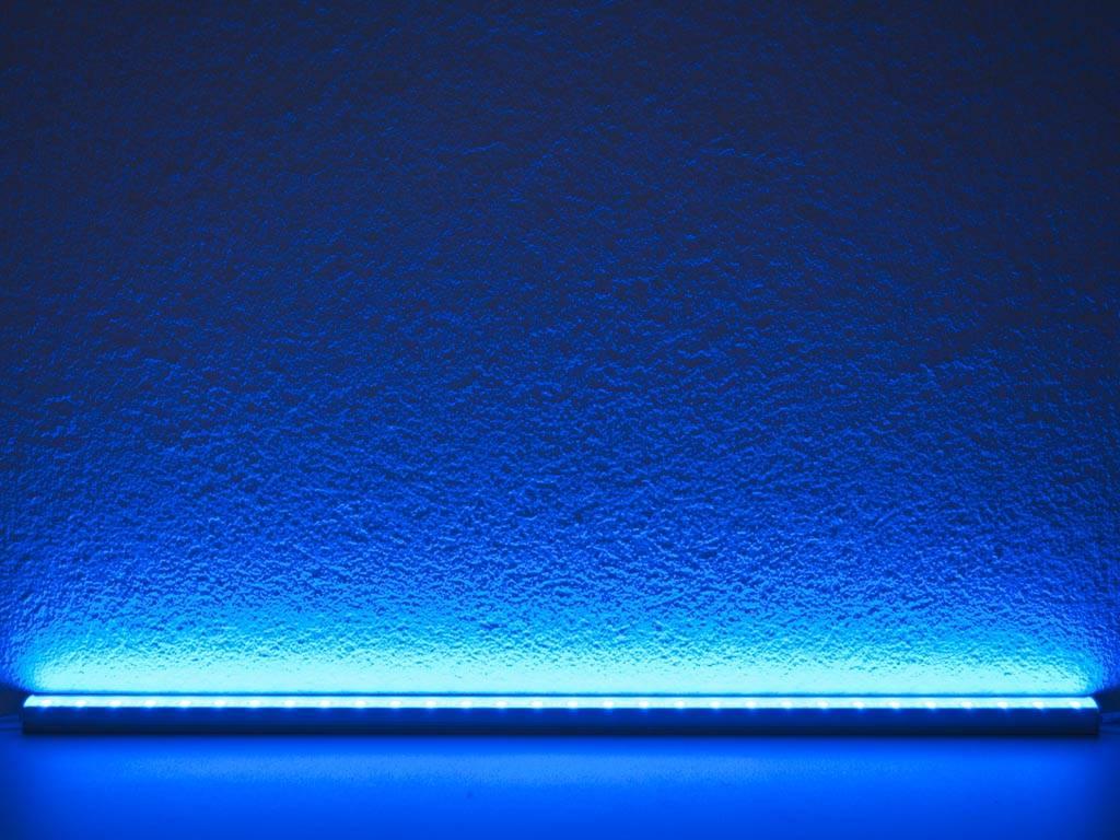 Barra LED impermeable de 50 cm - Azul - 5050 SMD 7.2W