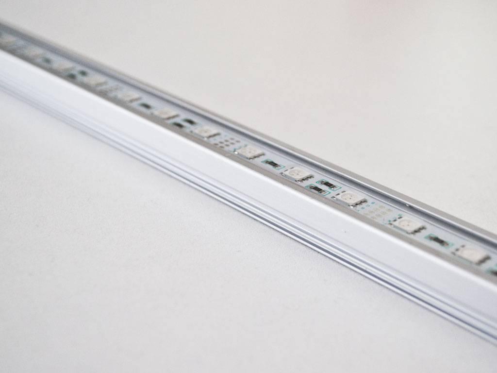 Striscia LED Rigida Impermeabile - Blu - 50 Centimetri - 5050 SMD 7.2W