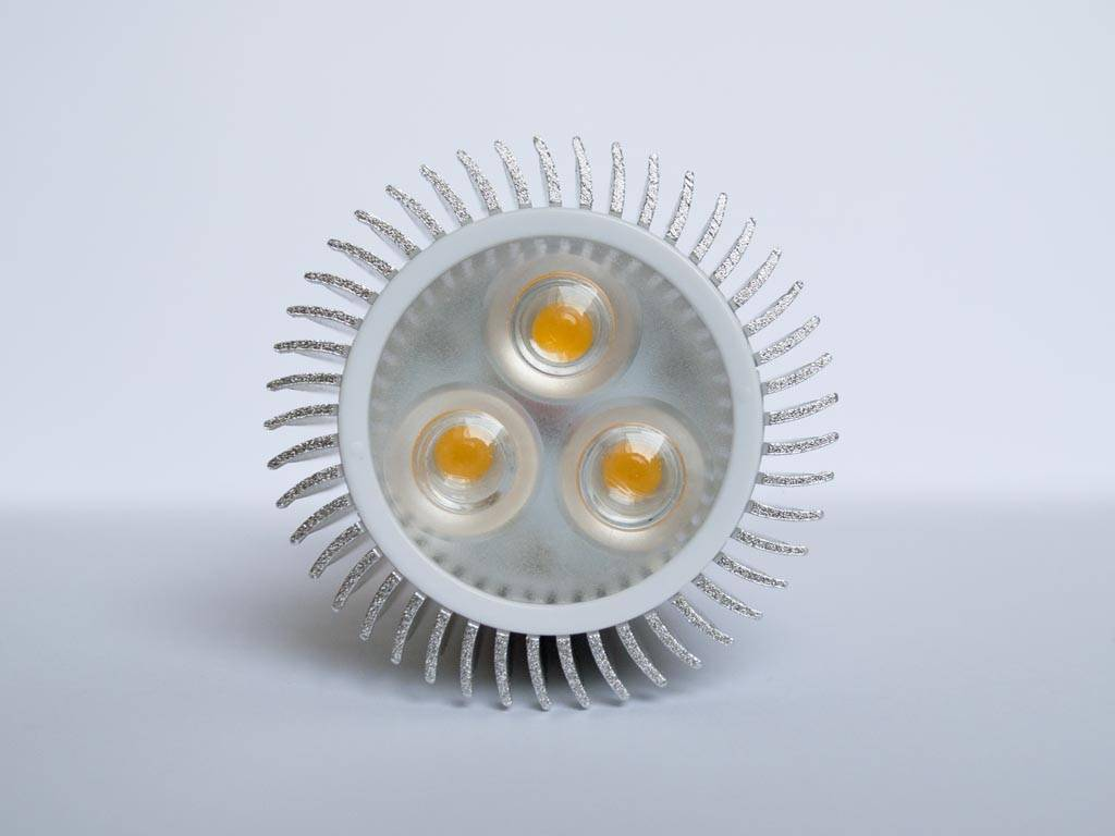 GU5.3 COB LED Spot LM90 9 Watt 12 Volt Dimbaar