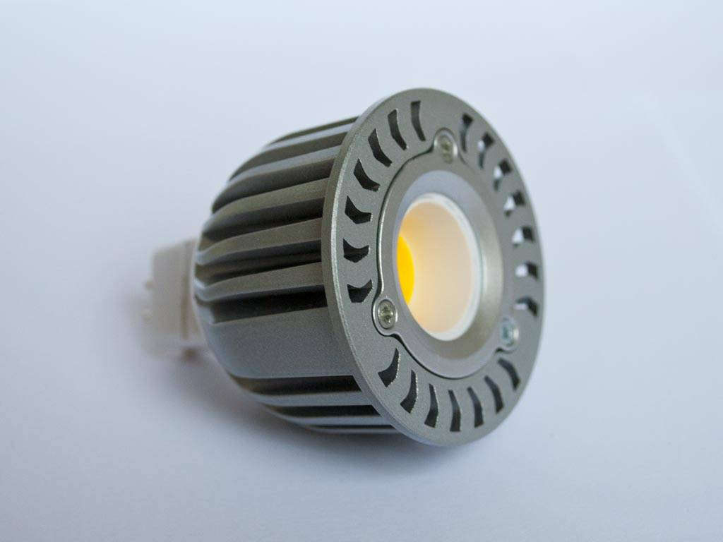 GU5.3 COB LED Spot LM50 5 Vatios 12 Volt Regulable