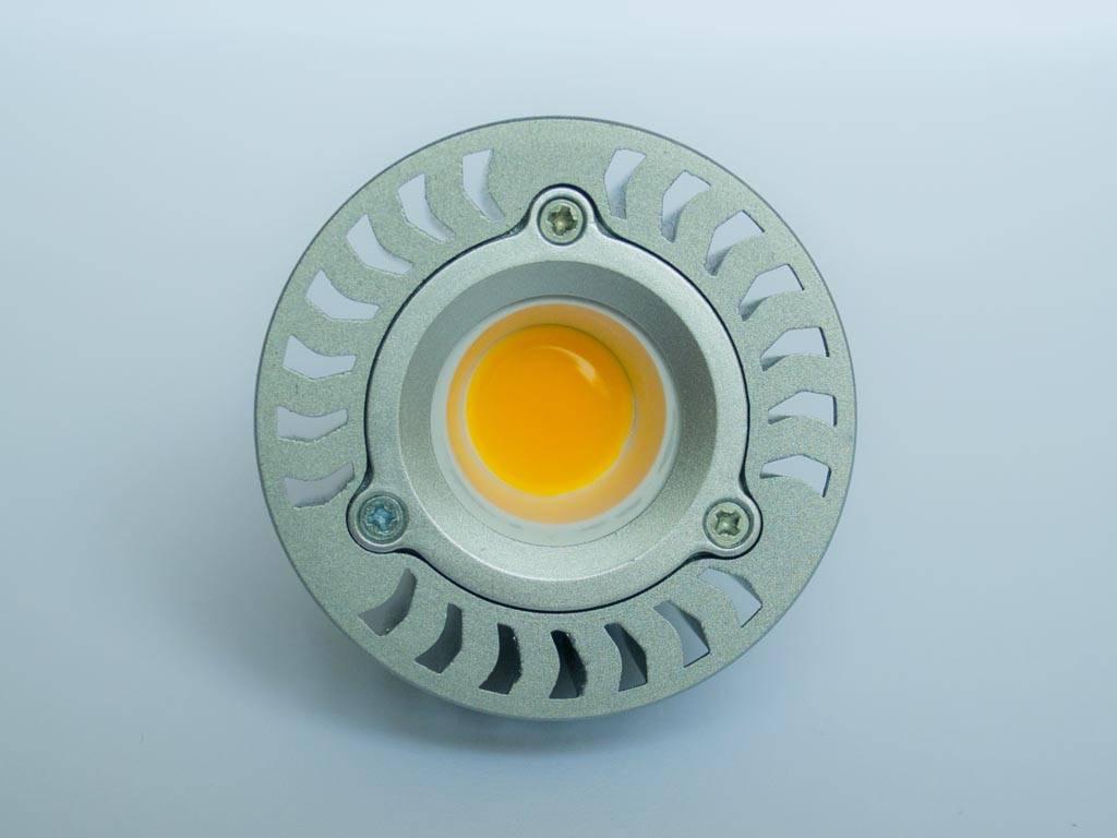 GU5.3 COB LED Spot LM50 5 Watt 12 Volt Dimbaar