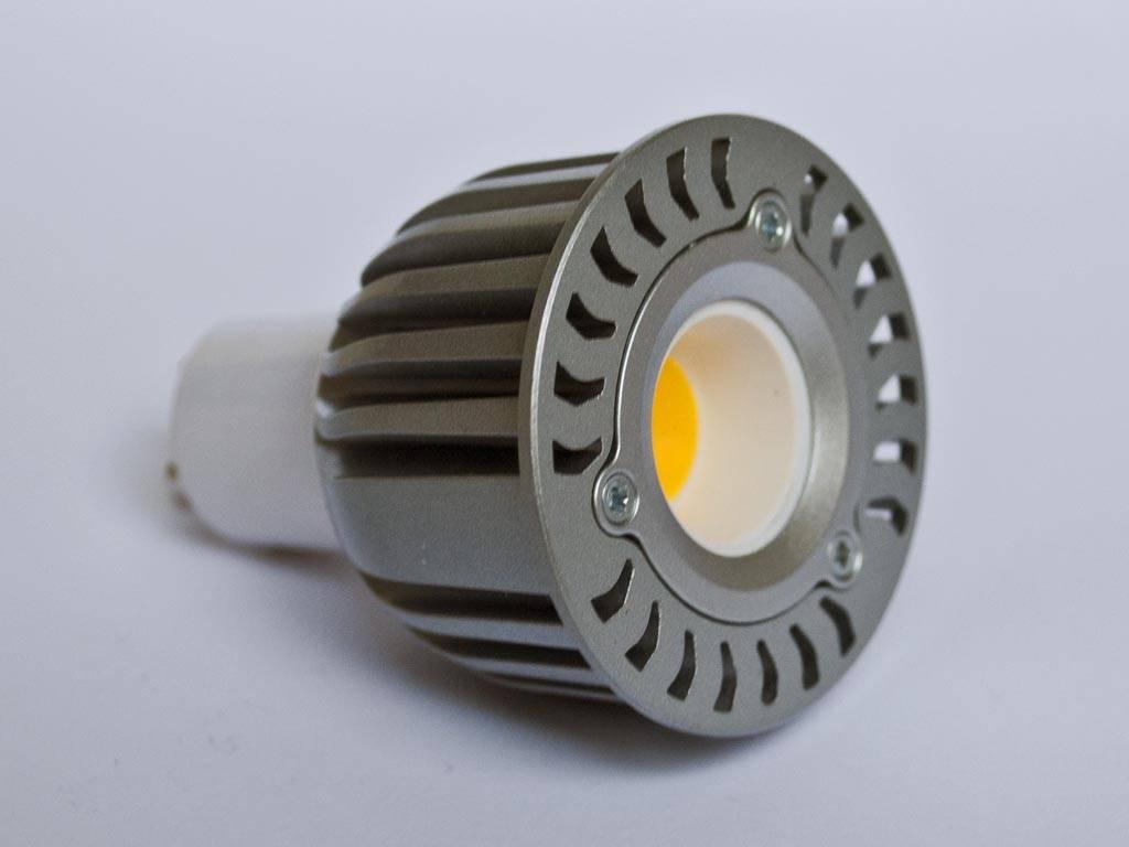 Verwonderlijk GU10 COB LED Spot LM50 5 Watt 110-230 Volt Dimmable - BuyLEDStrip.com YG-52