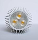 GU10 COB LED Spot LM60 6 Watt 110-230 Volt Dimmable