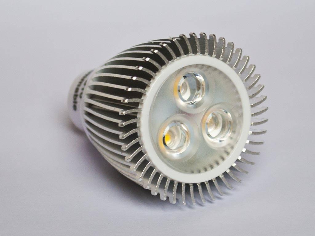 Beste GU10 COB LED Spot LM60 6 Watt 110-230 Volt Dimmable - BuyLEDStrip.com XV-96