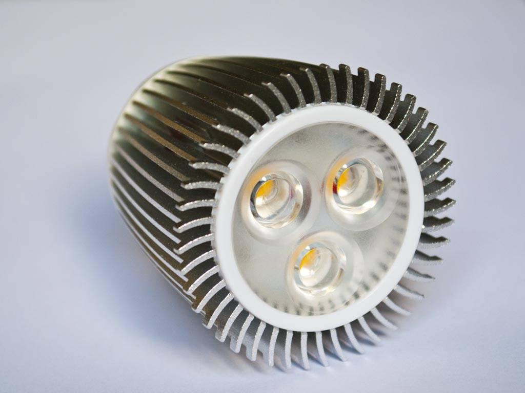 GU5.3 COB LED Spot LM90 9 Watt 12 Volt Dimmbar