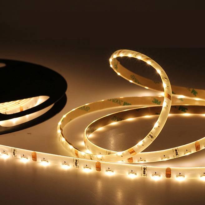 LED en bande 120 LED/m Blanc Chaud 335 émission latérale - par 50cm