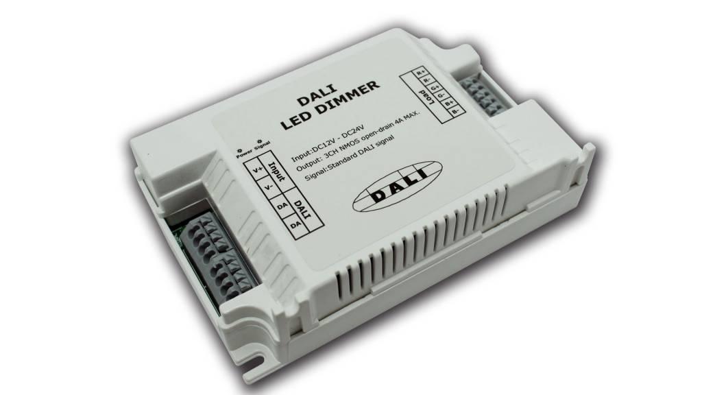 Controlador DALI para tiras de LEDs (3 canales)