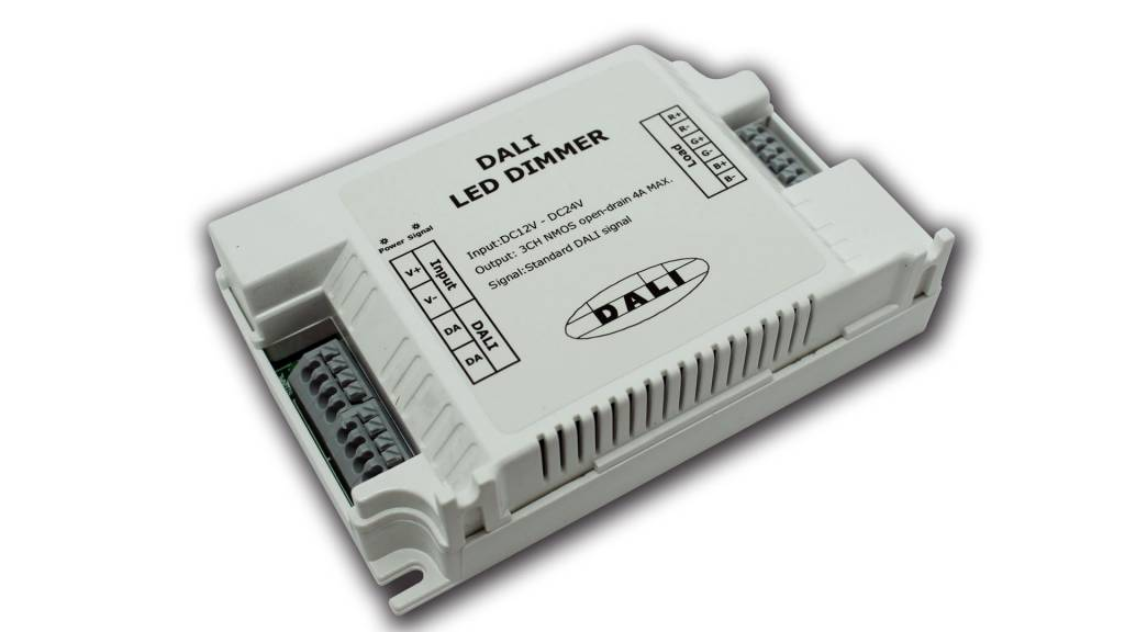 DALI LED Strip dimmer (3 canali)