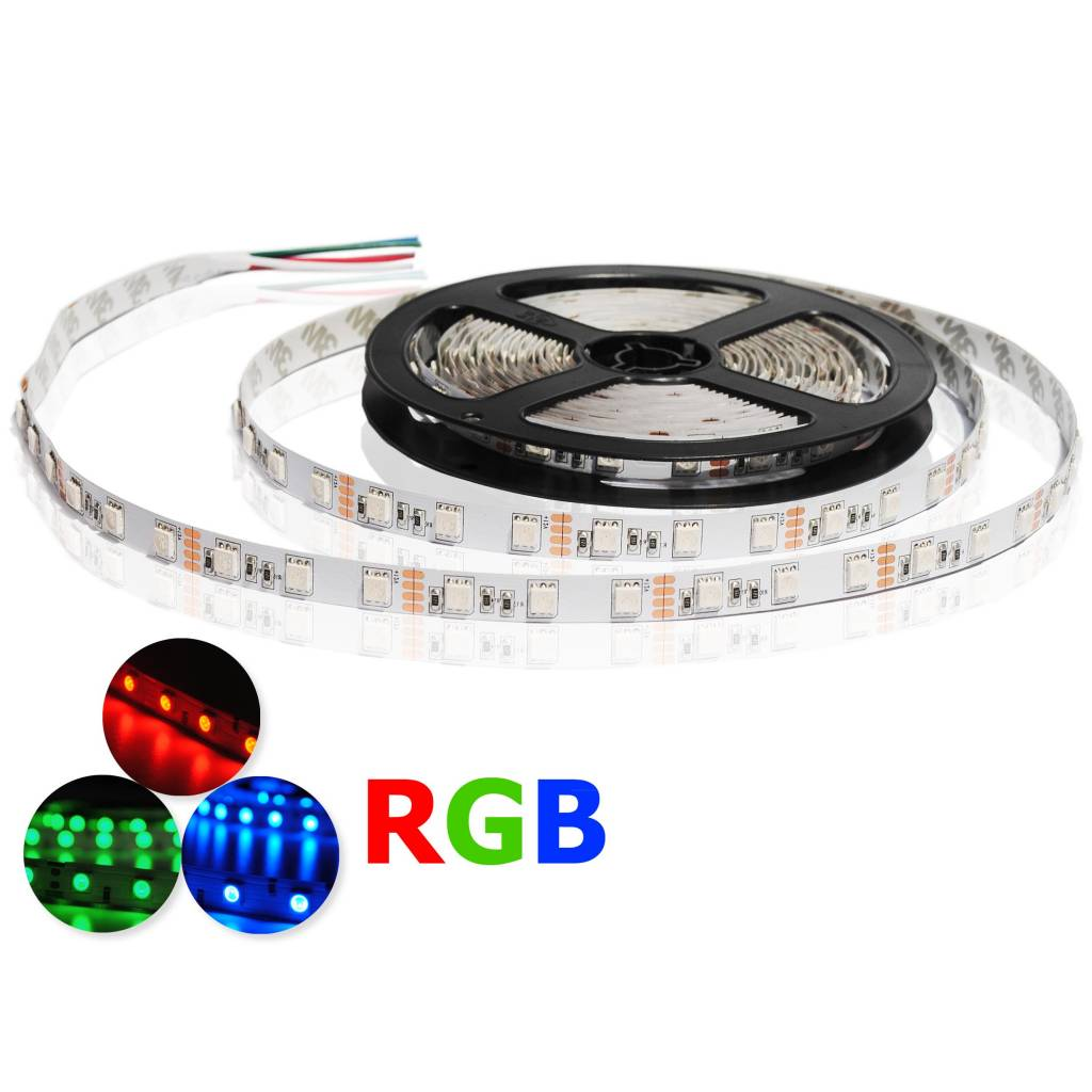 LED Strip RGB 3535 - 102 LEDs/m Flexible - per 50cm