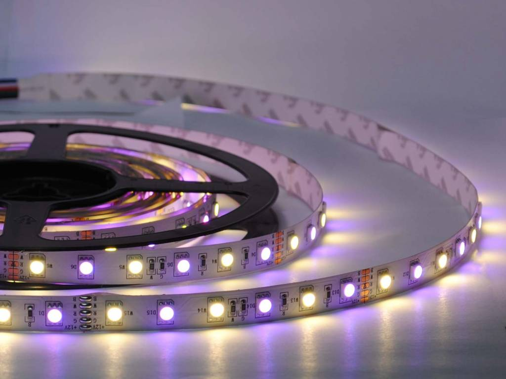 Nieuw: RGB-WW (RGBW) LED Strip