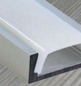 Aluminium Schiene 1 Meter - 7mm hoch