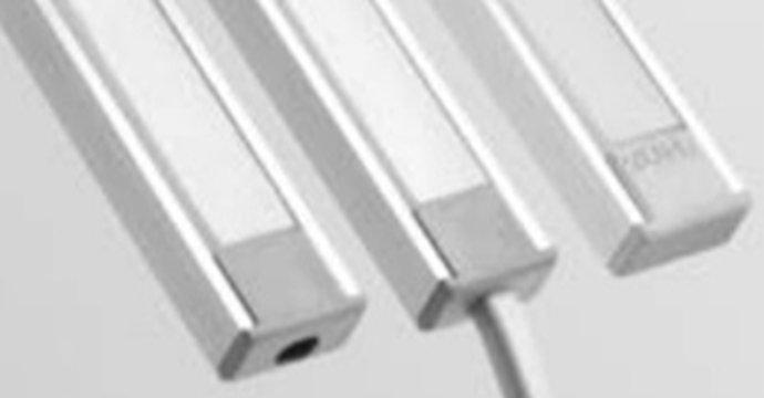 Profilo in alluminio 1 Metro 7mm alta
