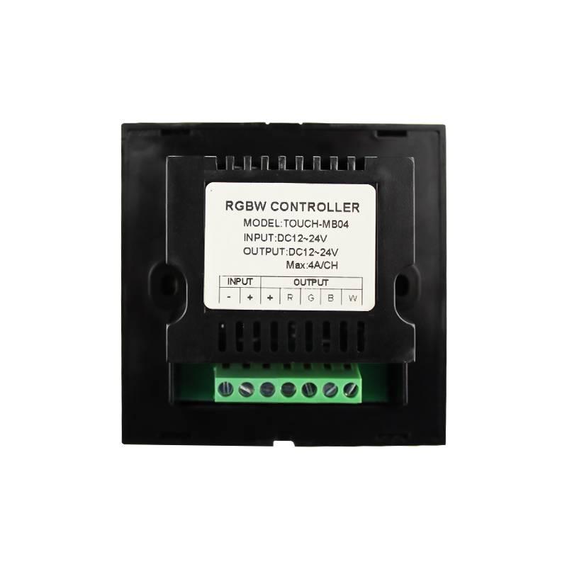 Controlador RGBW para montaje en pared Blanco