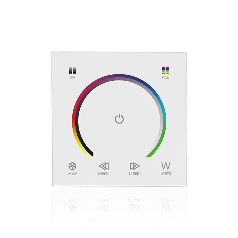 Controlador RGB para montaje en pared Blanco