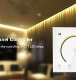 Contrôleur CCT / bicolore Mural avec Touch Panel Blanc