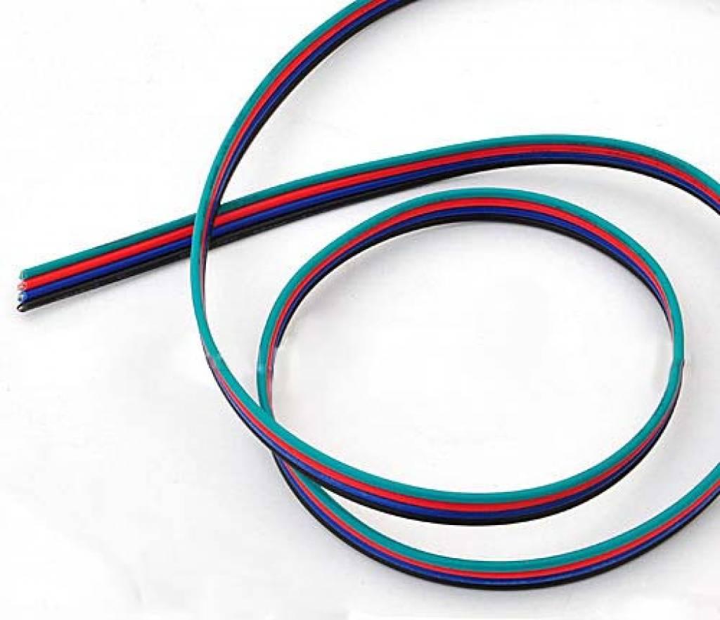 Kabel (4 Adern, RGB) pro Meter