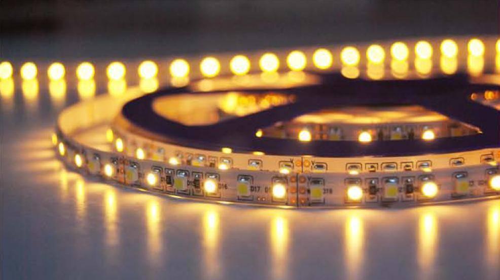 Striscia LED 2835 120 LED/m - Bianco caldo ~ Bianco - temperatura di colore regolabile - per 50cm