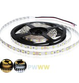 LED Strip IP68 Waterproof 2835 120 LED/m Dual Color 2700-6000K Color temperature adjustable - per 50cm