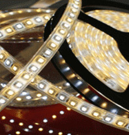 LED Strip Waterdicht Dual Color Warm Wit ~ Wit 120 LED/m  - per 50cm