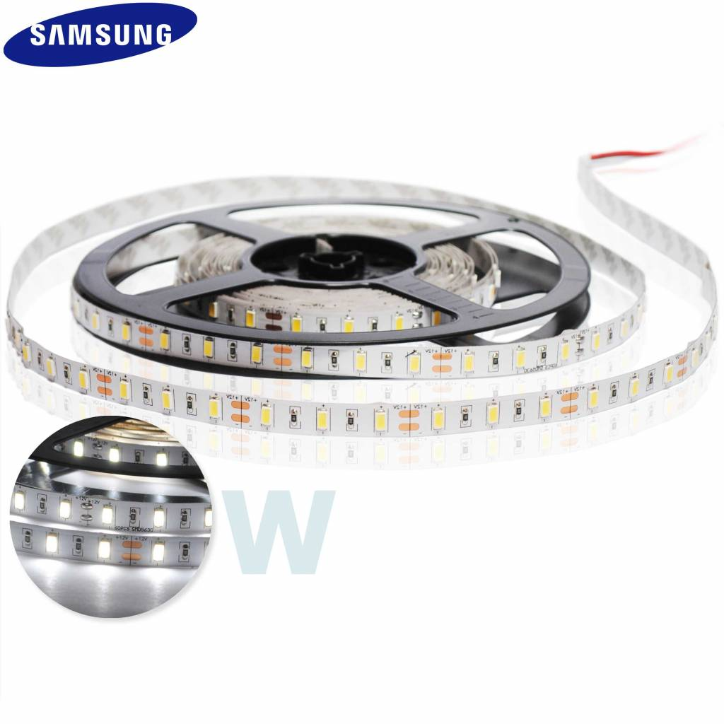 LED Strip 2835 160 LED/m White - per 50cm