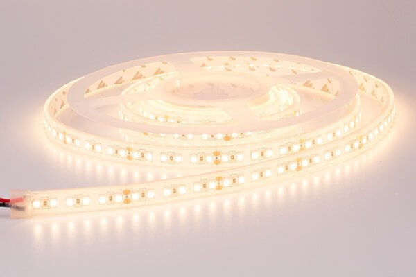 LED Strip 2835 Waterdicht 160 LED/m Warm Wit - per 50cm - High Power 28W/m