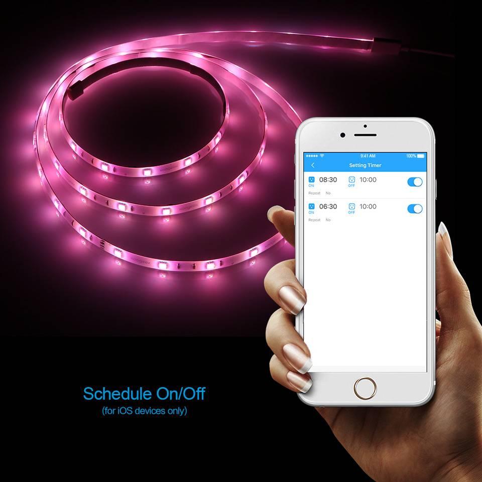 Koogeek RGB LED Streifen 2 Meter Kit