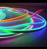 LED Neon Flex Digitaal RGB - 60 LED/m 5050 IP67 Waterdicht - per 50cm