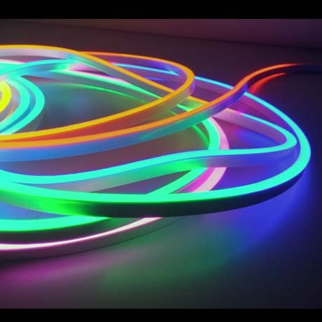 LED Neon Flex RGB Digital - 60 LED/m 5050 IP67 Waterproof- per 50cm