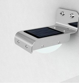 Solar powered outdoor LED light