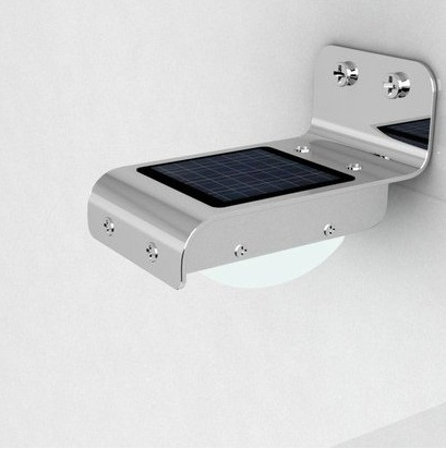 Solar powered outdoor LED light - Motion sensor home security lamp