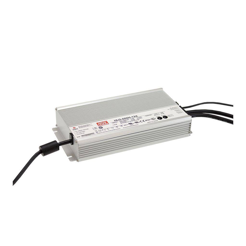 Meanwell Alimentación 600 Watts Impermeable Meanwell