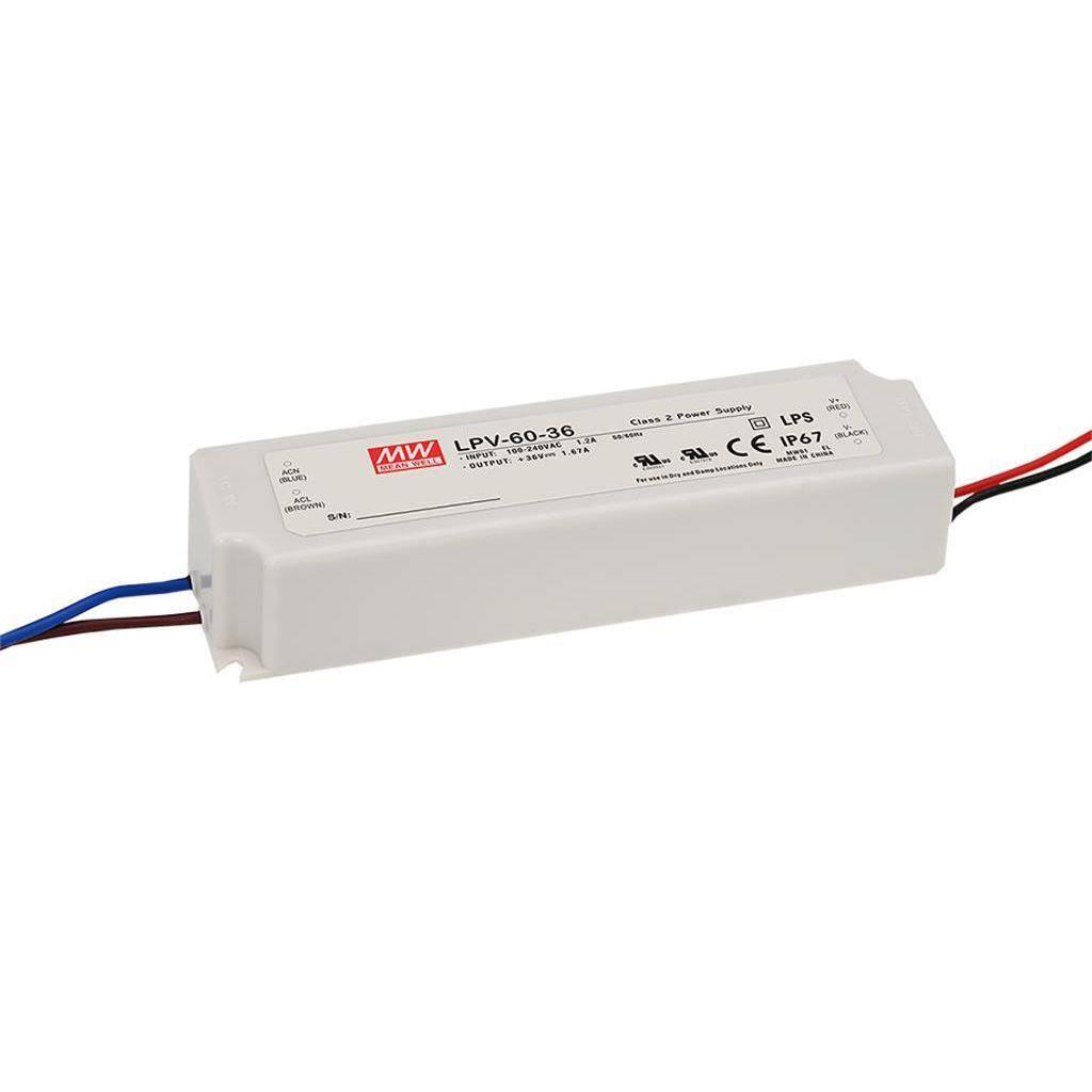 Meanwell Adapter 60 Watt Meanwell LPV-60