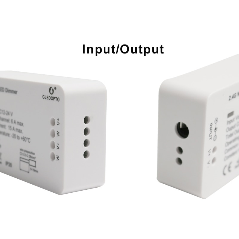 Gledopto Zigbee Dual Color LED Streifen Controller