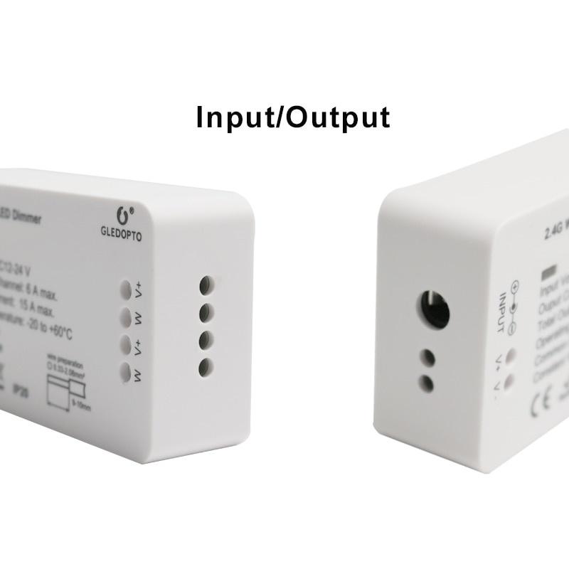 Gledopto Zigbee Enkelkleurige  LED Strip Controller