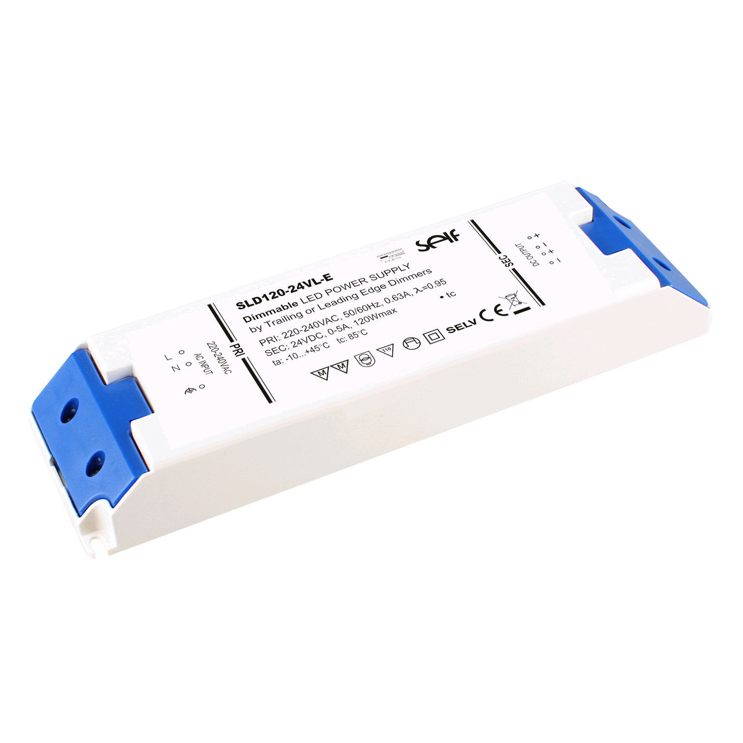 Self Electronics GmbH TRIAC dimmable Power supply 120 Watt SLD120