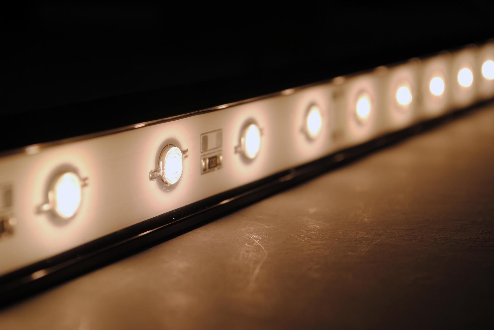 LEDBAR PRO de 50 cm blanco cálido IP68 Impermeable 12W 24V