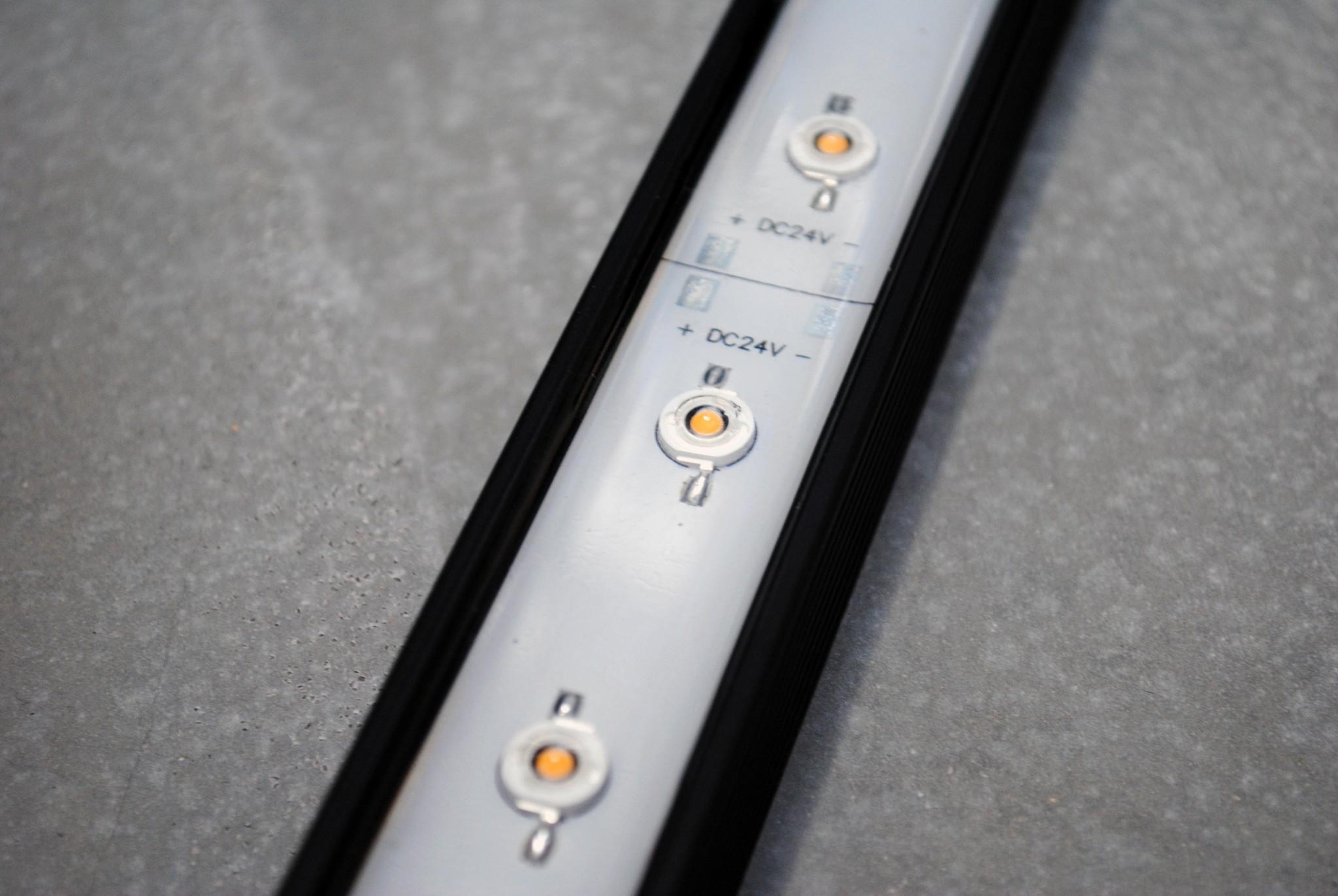 IP68 Waterdichte LEDBAR PRO 50cm Warm Wit 12W 24V
