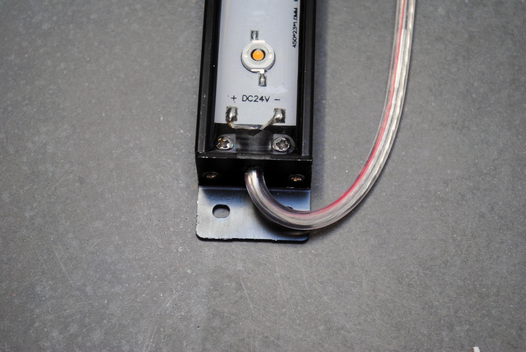 LEDBAR PRO 50cm - bianco IP68 impermeabile 12W 24V