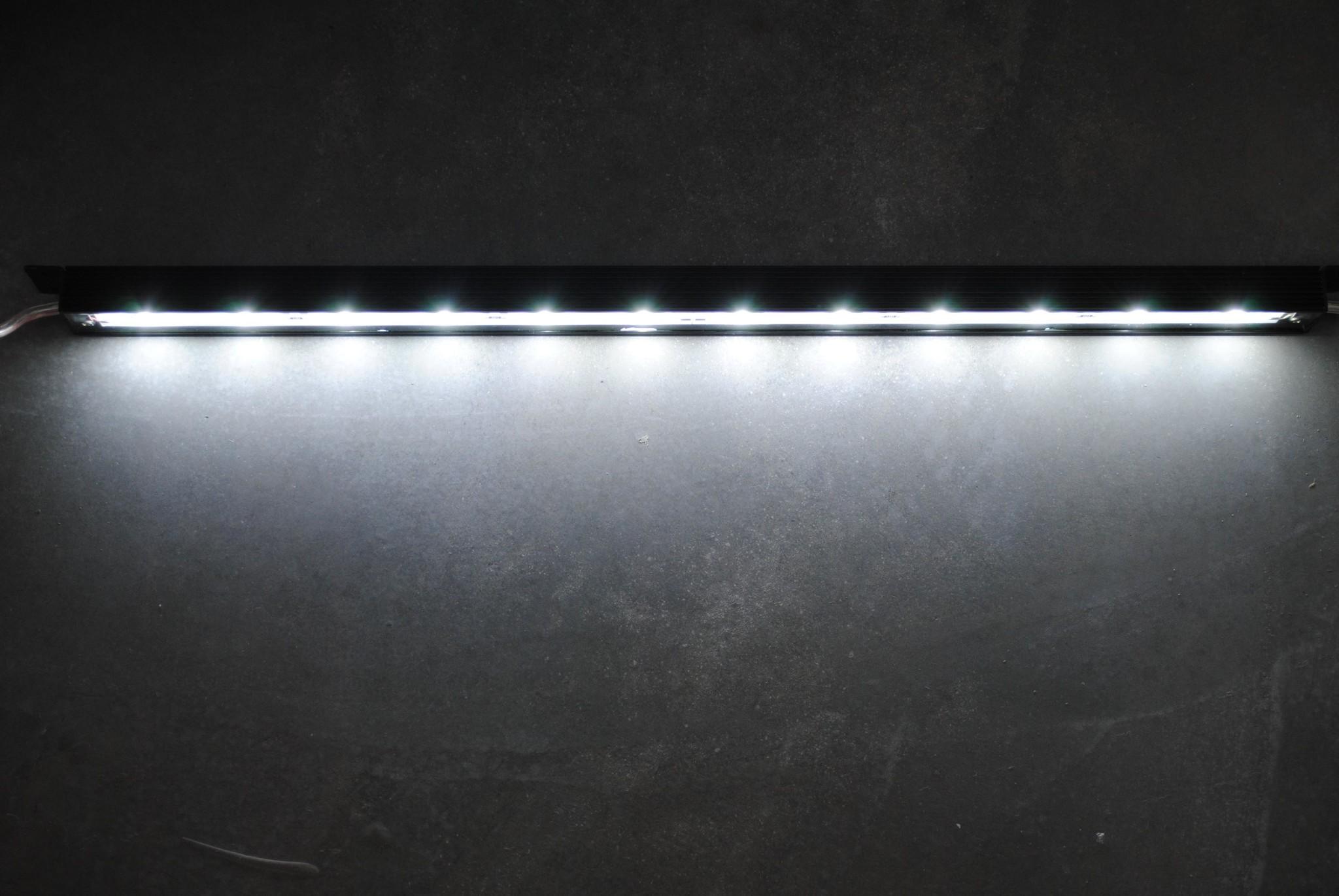 LEDBAR PRO de 50 cm - Blanc IP68 étanche 12W 24V