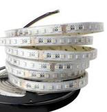 LED en bande 60 LEDs/m RVB-CCT 5 en 1 Puce Étanche - par 50cm