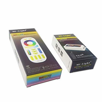 Contrôleur RGB-CCT avec 4-zone télécommande