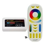 RGB-CCT Controller with 4-zone Remote Control