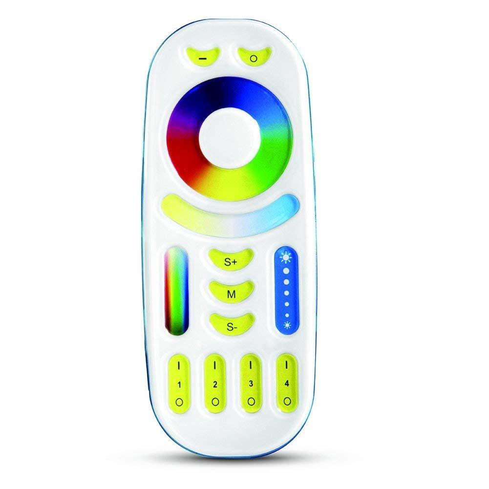 Controlador RGB-CCT con mando a distancia de 4 zonas